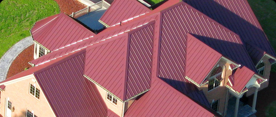 Residential Standing Seam Thatu0027s Long Lasting And Virtually Maintenance  Free.