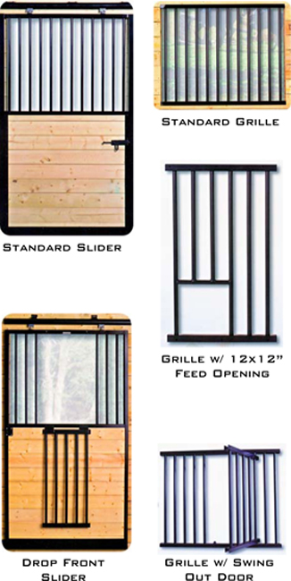 Stall Doors and Grilles ...  sc 1 st  Northstar Metals & Horse Stall Systems and Doors